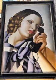 tamara de lempicka u2013 the telephone 1930 u2013 90 60 quadri e falsi d