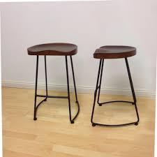 oak wood bar stools bar stools double wood counter stools for kitchen bedroom ideas
