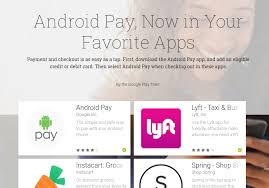 android pay app android pay can now handle in app purchases and some popular