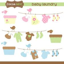 clothespin baby shower shower clothesline clipart