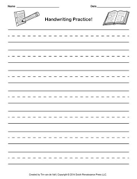 templates for handwriting handwriting paper template to help aiden learn pinterest