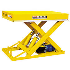 used electric lift table stationary hydraulic electric lift table used as feeding table on