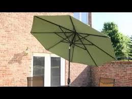 Auto Tilt Patio Umbrella Treasure Garden 9 Ft Deluxe Auto Tilt Patio Umbrella Product
