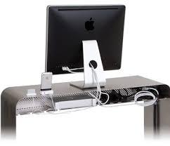 imac bureau un bureau en alu pour votre mac macgeneration