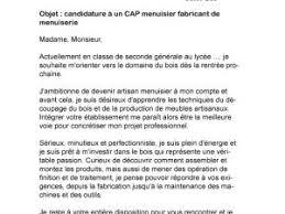 lettre de motivation cap cuisine lettre de motivation cap menuisier fabricant de menuiserie par