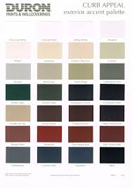 exterior paint chart pratt and lambert colors house paint color