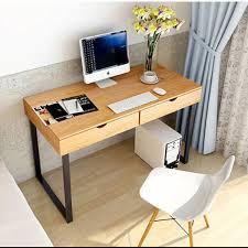 Minimal Computer Desk Minimalist Style Dresser Iron Wood Computer Desk Home Office Desk