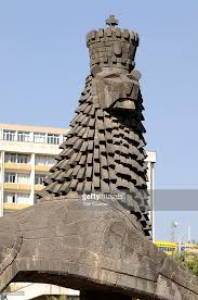 lion of judah statue lion of judah statue stock photo getty images