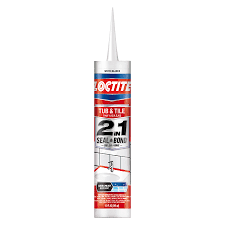 Clear Bathroom Sealant Shop Loctite 2in1 Pack 10 Oz White Paintable Caulk At Lowes Com
