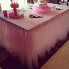 can you put a rectangle tablecloth on a round table table tutu skirt tutorial youtube