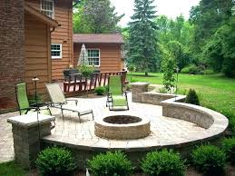 Stone Patio With Fire Pit Australian Fire Pit Designs Outdoor Fire Pit Ideas Australia In