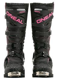 dirtbike boots cheep o u0027neal rider girls black pink motocross boots black uk