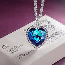 swarovski necklace design images Lady colour gifts for women necklace heart of ocean swarovski jp