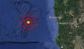 Usgs Earthquake Map California Usgs Magnitude 4 4 Earthquake Reported Off Oregon California