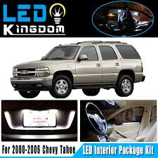 96 Tahoe Interior 17 Pcs 00 06 For Chevy Tahoe Car Interior Led Light Package Kit