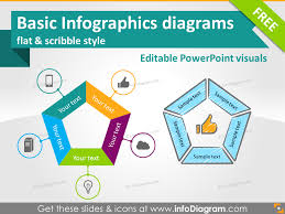 Free Infographics Ppt Slides Diagrams Icons Powerpoint Scribble Flat Ppt Free