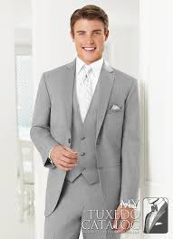 light gray vested suit heather grey twilight ceremonia suit tuxedos suits