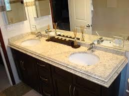 ideas for bathroom countertops colonial cream granite