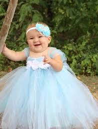 halloween party for babies beautiful cinderella tutu dress costume with crown headband for