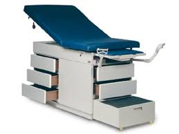 medical exam room tables gas spring back exam table