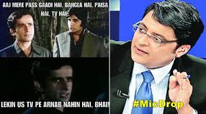 Bollywood Meme - arnab goswami quits in 11 bollywood memes the indian express