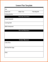 8 weekly lesson plan template word writable calendar blank