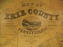 Erie County Map Map Of Erie County Atlases