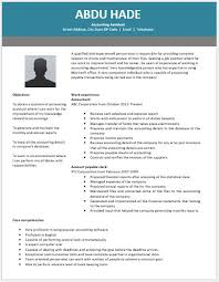 accounting assistant resume contents layouts u0026 templates resume