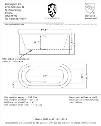 Length Of A Standard Bathtub Best 25 Standard Tub Size Ideas On Pinterest Master Bath Tub