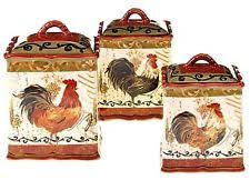 tuscan style kitchen canister sets tuscan kitchen canisters ebay