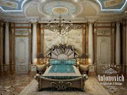 professional bedroom design in qatar luxury antonovich design