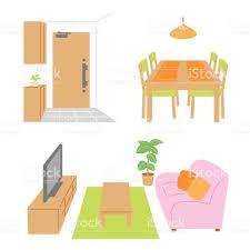 living room dining room door stock vector art 470296806 istock