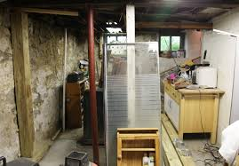 our basement part 5 the bagster a gutted bathroom and new