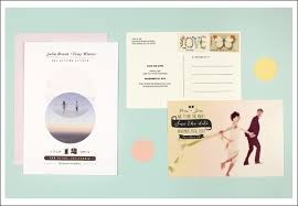 Wedding Postcards Ideas And Designs For Photo Wedding Invitations From Postcards To