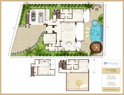 Mission San Jose Floor Plan by Casa Nubes 22 Laguna Realty Los Cabos
