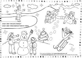 free printable worksheets coloring winter 511895 coloring pages