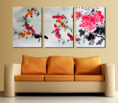 Wall Art Paintings For Living Room Online Get Cheap Flower Art Painting Aliexpress Com Alibaba Group