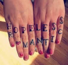 hopeless romantic tattoos inked magazine inked magazine