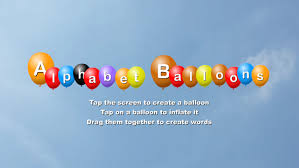 alphabet balloons alphabet balloons free kids android apps on play