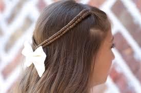 plait at back of head hairstyle infinity braid tieback back to school hairstyles cute girls