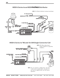 msd ignition wiring diagrams series to gm and on single connector