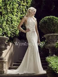 Clearance Wedding Dresses Elegant Scoop Neck Two Piece Clearance Wedding Dress Online
