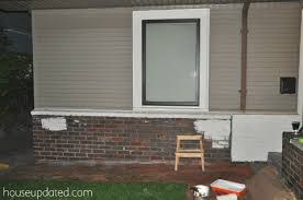 Exterior Paint And Primer - how to paint brick and how to paint metal window trim house exterior