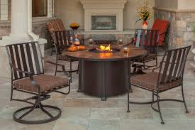 Swivel Patio Dining Chairs Patio Ideas Outdoor Dining Table Pit With Swivel Patio