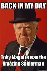 Tobey Maguire Meme - toby meme 28 images the office meme toby www pixshark com