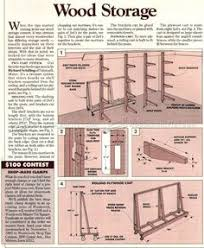 Wood Storage Rack Woodworking Plans by 180 Plywood Storage Rack Plans U2026 Pinteres U2026