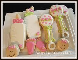 nanny u0027s sugar cookies llc baby shower cookie favors
