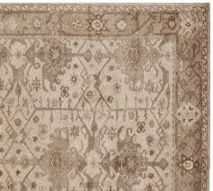 channing persian style rug neutral pottery barn