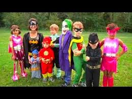 halloween costumes for kids superheros batman youtube
