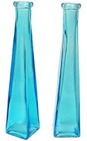 Blue Bottle Vase Amazon Com Serene Spaces Living 6 Glass Bottle Bud Vases Vintage